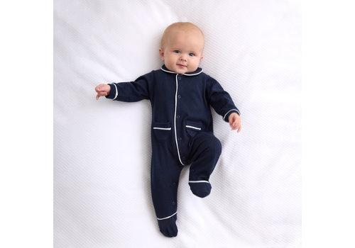 Living Nature Pyjama Donkerblauw Met Zakjes