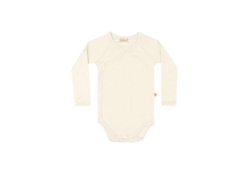 UAUA UAUA - Kimono Onesie Long Sleeves Crema