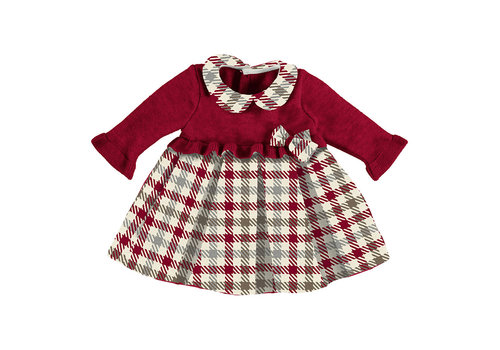Mayoral Mayoral Check Dress    Red  2816-48