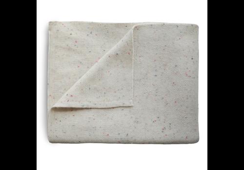 Mushie Mushie Blanket Confetti Ivory