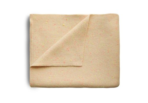 Mushie Mushie Blanket Confetti Peach