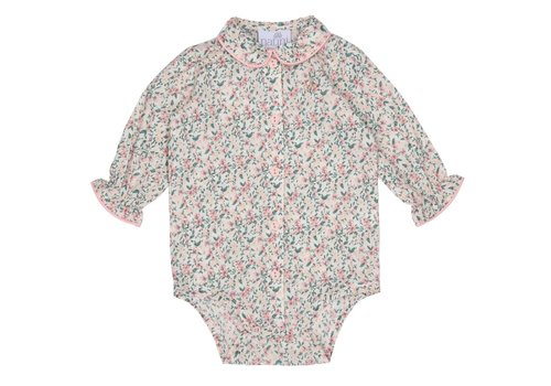 Natini Natini Blouse Body Annie Flower Pink