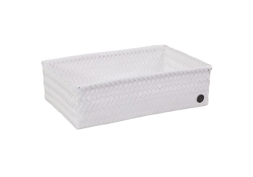 Handed By Handed By Basket Fit Big 36x24x10Cm White