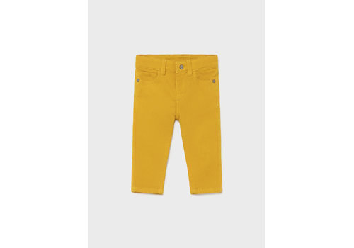 Mayoral Mayoral Basic Slim Fit Cord Trousers  Gold 502-19