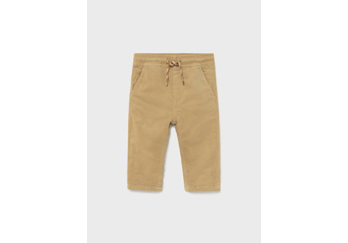 Mayoral Mayoral Micro-Cord Lined Trousers Camel  2531-63