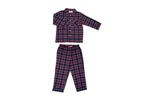 Cotolini Cotolini Pyjama Mathieu W Tartan Marine T24 Tartan