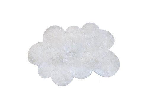 Pilepoil Pilepoil Tapis Nuage Blanc L 140cm*200cm - Poil Court