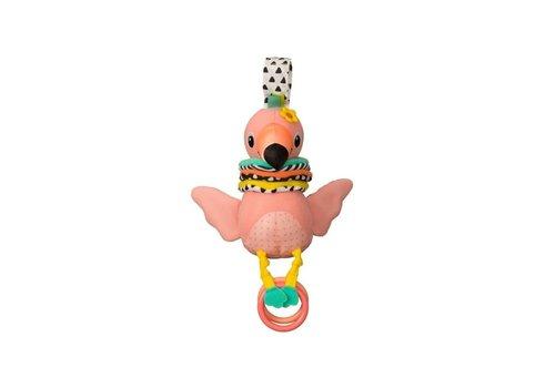 Infantino Infantino Main Hug & Tug Musical Flamingo