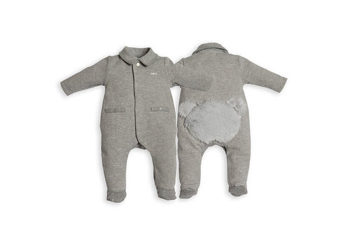 My First Collection First Combi Teddy Bear Backside Grey