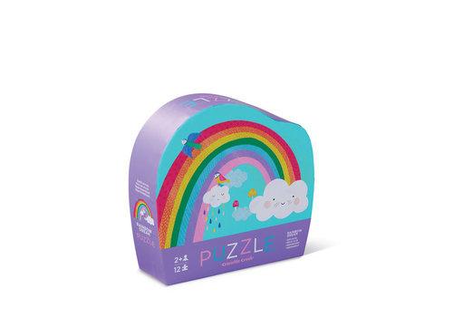 Crocodile Creek Mini Puzzle 12pc Rainbow