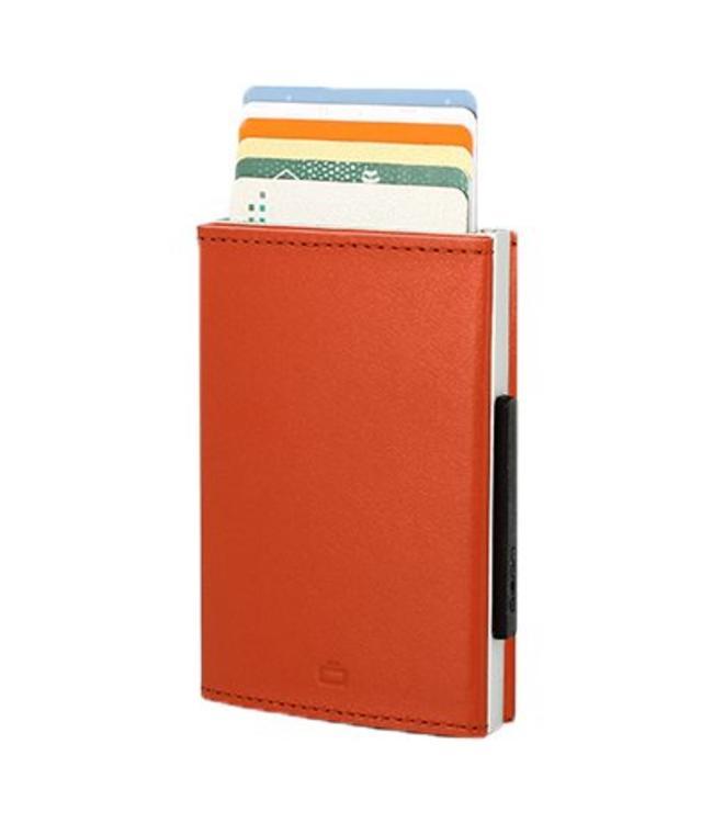 Ogon Designs Cascade Leren RFID Cardprotector Oranje