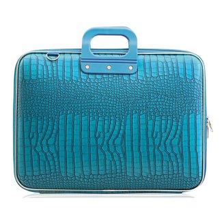 Bombata Cocco Laptoptas 17 inch Turquoise