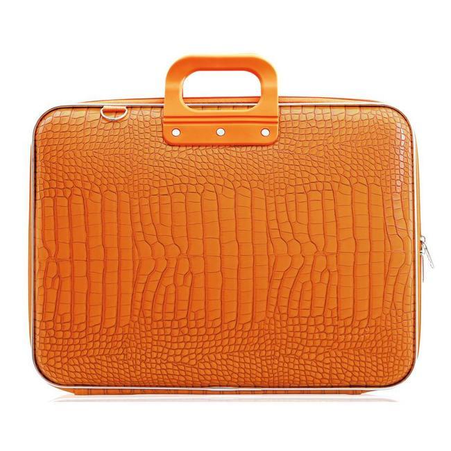 Bombata Cocco Laptoptas 17 inch Oranje