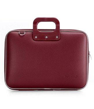 Bombata CLASSIC 15 inch Laptoptas Donker rood