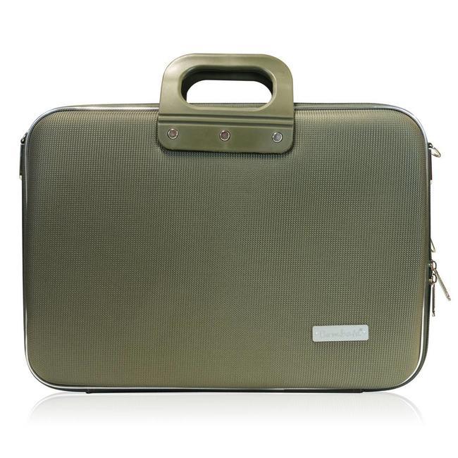 Bombata 15 inch Nylon Business Laptoptas Groen
