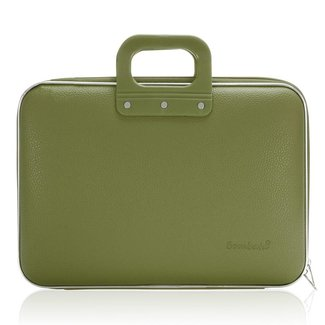 Bombata 15 inch Business Laptoptas Khaki groen