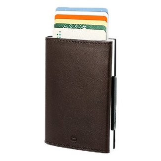Ogon Designs Cascade Leren RFID Cardprotector Bruin