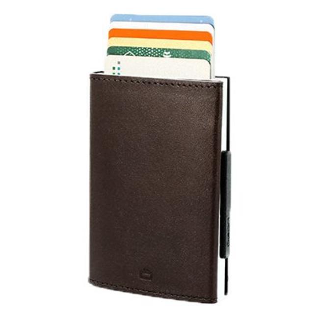 Ögon Designs Cascade Leren RFID Cardprotector Bruin