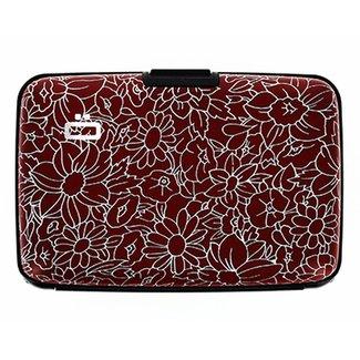 Ogon Designs Stockholm - Aluminium Creditcardhouder - Flowers