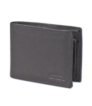 Rinaldo Heren Portemonnee Billfold Leer RFID Zwart