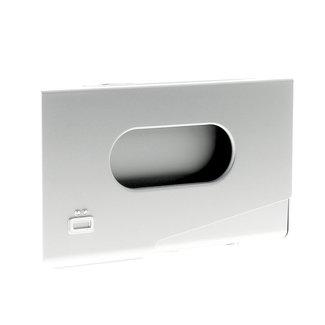 Ogon Designs One Touch Aluminium Visitekaarthouder Zilver