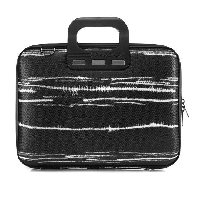 "Bombata 13 inch Laptoptas - Black&White - 13,3"" - Zwart"