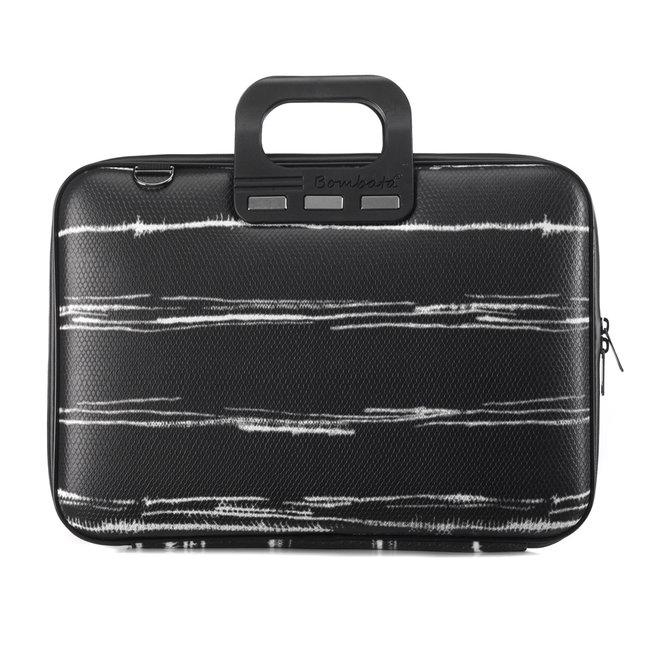 "Bombata 15 inch Laptoptas - Black&White - 15,6"" - Zwart"