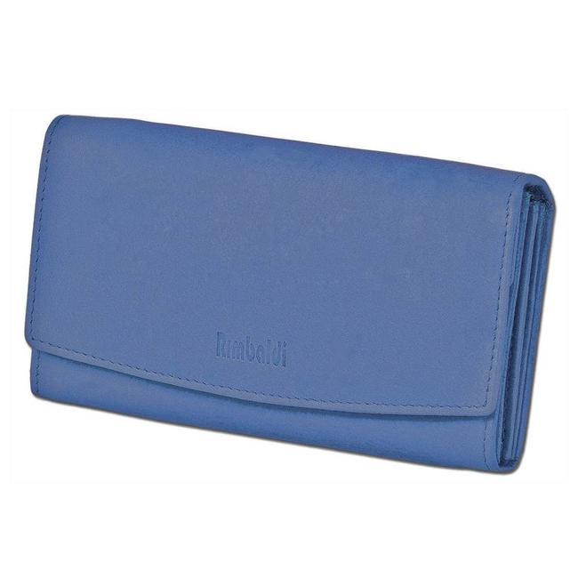 Blauwe Leren Portemonnee.Rimbaldi Leren Dames Portemonnee Excellent Blauw Houtkamp