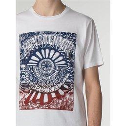 Ben Sherman Psychadelic Poster T-Shirt