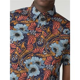 Ben Sherman Psychedelic Floral Overhemd (Korte mouwen)