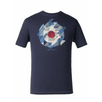 Ben Sherman Target Chevron Gingham T-Shirt
