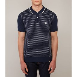 Pretty Green Padstow Knitted Polo