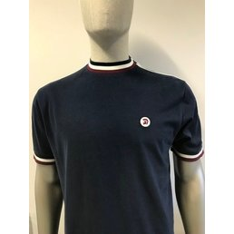 Trojan Twin Stripe Rasta T-Shirt