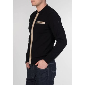 Merc Belsize Collared Zip Cardigan