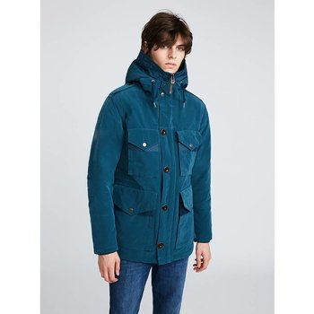 Pretty Green pretty green button up hooded jacket