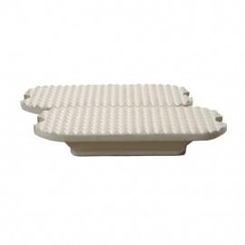 veiligheidstijgbeugel zooltjes rubber wit