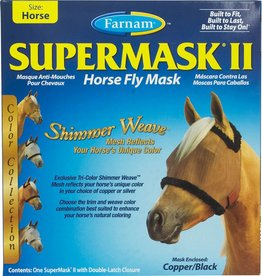 FARNAM FARNAM supermask || horse copper/black