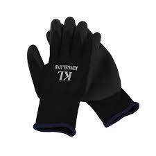 KINGSLAND KINGSLAND durness unisex riding gloves w fleece black
