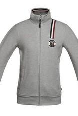KINGSLAND KINGSLAND Jilian anisex sweater jacket light grey