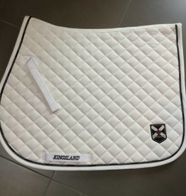 KINGSLAND KINGSLAND Brushed lining saddle pad wit