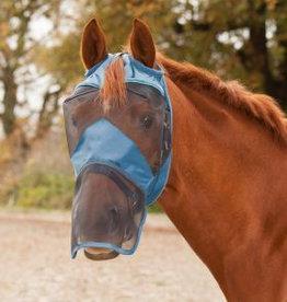 WALDHAUSEN WALDHAUSEN Vliegenmasker zonder oren met neusstuk fullstuk powder blue
