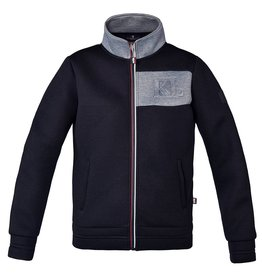 KINGSLAND KINGSLAND Wildspitze unisex bonded sweat jacket navy