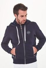 HARCOUR  leon sweater navy
