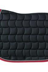 HARCOUR HARCOUR zadeldoek chantilly zwart- rood full