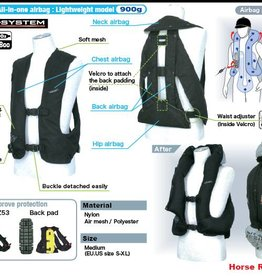 HIT AIR HIT AIR Bodyprotector one size model LV