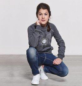 HARCOUR HARCOUR Zeta sweater kids grijs