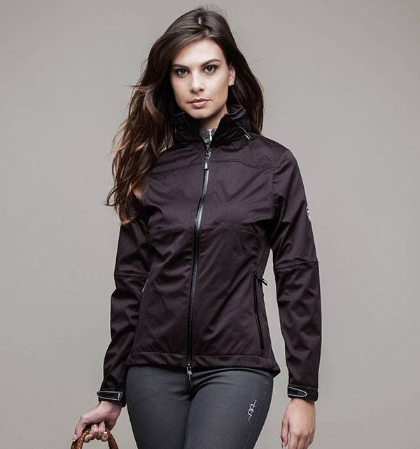 HORSEWARE AA waterproof  jacket zwart