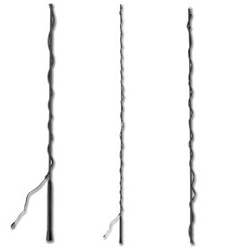 Waldhausen Longeerzweep zwart 200cm