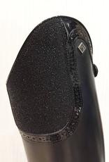 De Niro Boot DENIROBOOT rijlaars zwart S2601 met top Milano - maat 38 - medium hoog - kuit small - Vibram zool