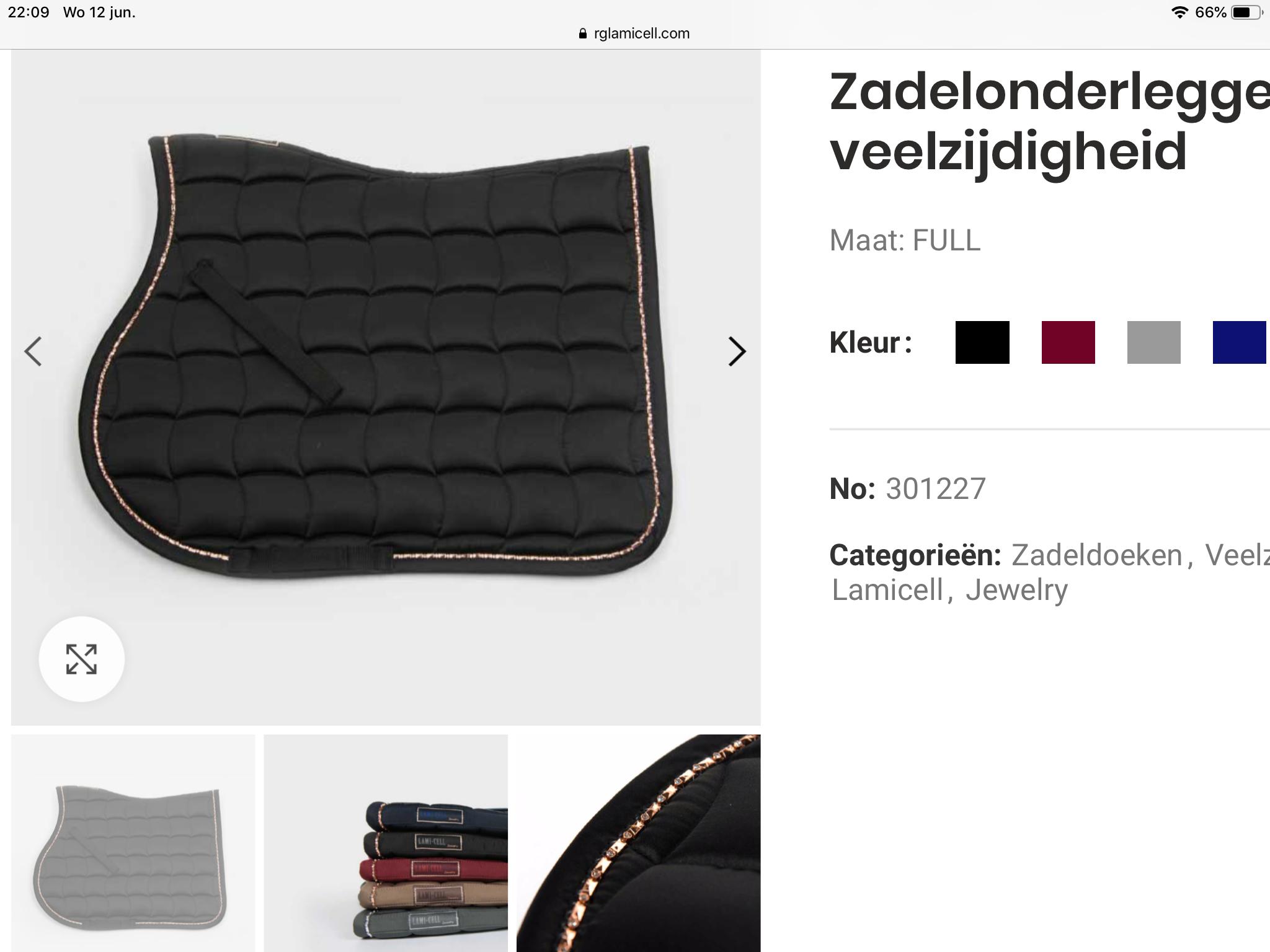 LAMI-CELL LAMI-CELL Jewelry Zadeldoek